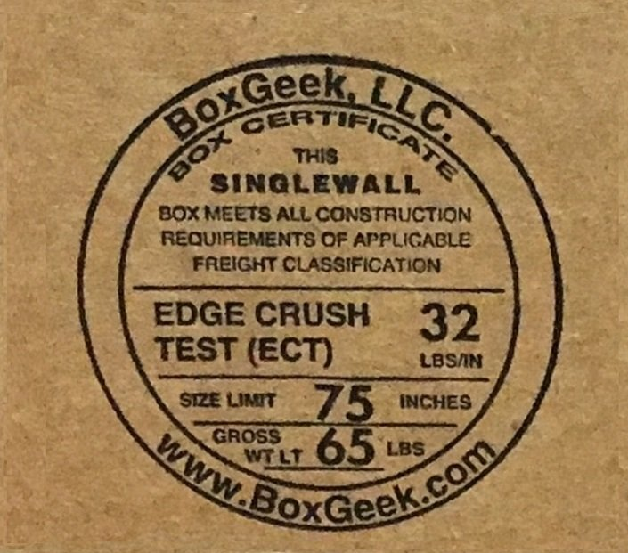 BoxGeek Cert Stamp