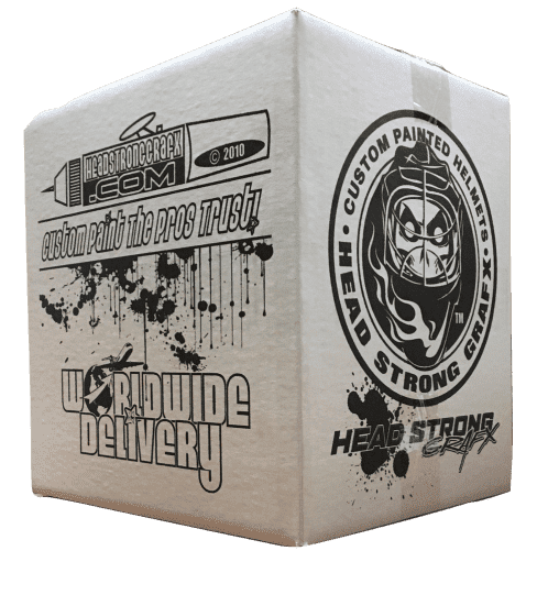 Custom Printed Corrugated Box One