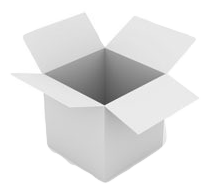 All White Kraft Box Example