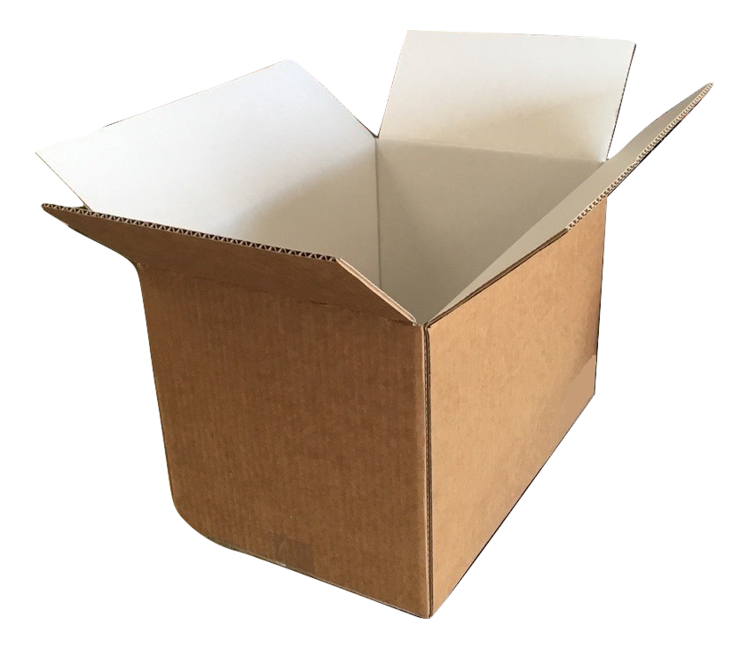 White Interior Kraft Box Example